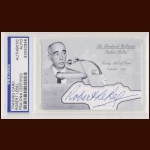 Robert LeBel Autographed Card - The Broderick Collection - Deceased