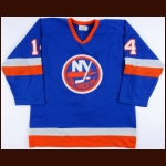 1984-85 Bob Bourne New York Islanders Game Worn Jersey