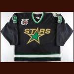 "1991-92 Mike Modano Minnesota North Stars Game Worn Jersey – ""25-year Anniversary"""