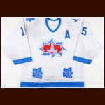 1989-90 Greg Smyth Halifax Citadels Game Worn Jersey