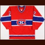 1987-88 Rick Hayward Sherbrooke Canadiens Game Worn Jersey