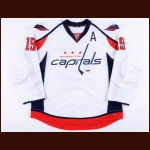 2015-16 Nicklas Backstrom Washington Capitals Game Worn Jersey - 1st All Star Season - Photo Match