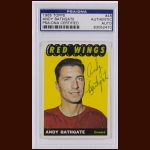 Andy Bathgate 1965 Topps – Detroit Red Wings – Autographed – Deceased – PSA/DNA