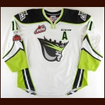 "2017-18 Tomas Soustal Edmonton Oil Kings Game Worn Jersey ""100-year Memorial Cup"" - Photo Match"