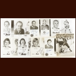 Oakland Seals/California Golden Seals Autographed Group of (82) – Includes Hall of Famers and Deceased