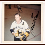 Jack Evans California Seals Autographed Color Photo - Deceased