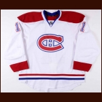 2011-12 Scott Gomez Montreal Canadiens Game Worn Jersey