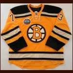 "2009-10 Michael Ryder Boston Bruins Winter Classic Game Worn Jersey - ""2010 Winter Classic"" - NHL/Winter Classic Letter"