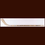 Stan Smyl Vancouver Canucks Sher-Wood Game Used Stick – Autographed