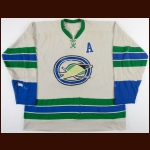 1967-68 Kent Douglas & Bert Marshall Oakland Seals Game Worn Jersey - Inaugural Season - Photo Match
