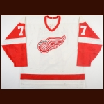 1993-95 Shayne McCosh Detroit Jr. Red Wings Game Worn Jersey