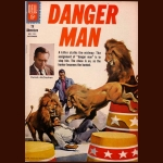 1961 DANGER MAN COMIC BOOK BY DELL (VERY RARE)