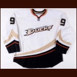 2008-09 Bobby Ryan Anaheim Ducks Game Worn Jersey - Photo Match