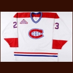 "1992-93 Brian Bellows Montreal Canadiens Game Worn Jersey – ""1993 NHL All Star Game"" – 40-Goal Season - Stanley Cup Season"