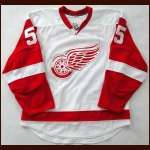 2008-09 Niklas Kronwall Red Wings Game Worn Jersey