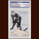Lionel Conacher Autographed Card - The Broderick Collection - Deceased