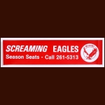 1972-73 WHA Miami Screaming Eagles Bumper Sticker
