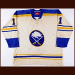 1976-77 Gilbert Perreault Buffalo Sabres Game Worn Jersey - 2nd Team NHL All Star - All Star Season – Photo Match