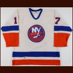1984-85 Greg Gilbert New York Islanders Game Worn Jersey