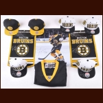 Tyler Seguin Boston Bruins Autograph Group – 10 Items including Hats, Pennants, Photo & Jersey
