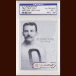 Fred Chittick Autographed Card - The Broderick Collection - Deceased