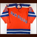 1974-75 Dean Boylan & Doug Volmar WHA San Diego Mariners Game Worn Jersey - Inaugural Season - The Twin Cities WHA Find