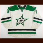 2013-14 Tyler Seguin Dallas Stars Game Worn Jersey - Career Best 37-Goals, 47-Assists, 84-Points Season - Photo Match – Team Letter