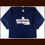 Early 1990's Al Iafrate Washington Capitals Practice Worn Jersey
