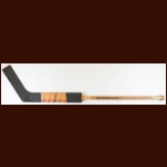 Glen Hall Chicago Blackhawks Northland Game Used Stick – Autographed