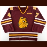 2000-01 Rob Anderson University of Minnesota-Duluth Game Worn Jersey