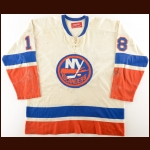 1973-75 Ed Westfall New York Islanders Game Worn Jersey
