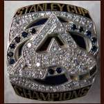 2001 Ray Bourque Colorado Avalanche Stanley Cup Championship Salesman Sample Ring