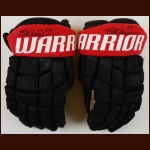 Erik Karlsson Ottawa Senators Black Warrior Game Used Gloves – Autographed