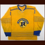 1969-71 Rich Coutu Rosemont National Game Worn Jersey - QMJHL Inaugural Season