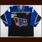 "2008-09 Danny Coulombe Lewiston Maineiacs Game Worn Jersey – ""2009 IIHF Ottawa"""