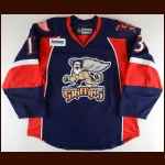 2013-14 Gustav Nyquist Grand Rapids Griffins Game Worn Jersey