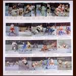 1964-65 Toronto Star NHL Hockey Photos Complete Set - Includes Original Album