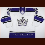 2006-07 Tim Gleason Los Angeles Kings Pre-Season Game Worn Jersey – Team Letter