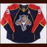 2009-10 Stephen Weiss Florida Panthers Game Worn Jersey