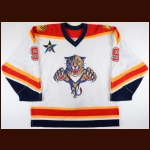 "2002-03 Stephen Weiss Florida Panthers Game Worn Jersey – Rookie – ""2003 All Star Game"" - Photo Match – Team Letter"