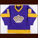 1977-78 Marcel Dionne Los Angeles Kings Game Worn Jersey - Photo Match