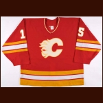 1993-94 Sandy McCarthy Calgary Flames Game Worn Jersey – Rookie