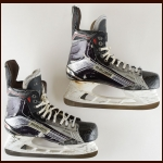 Shayne Gostisbehere Philadelphia Flyers Black & Silver Bauer Game Worn Skates – Rookie – Photo Match