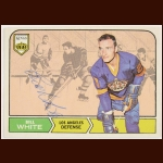 1968-69 Bill White Los Angeles Kings Autographed Card – Deceased