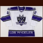 1998-99 Dan Bylsma Los Angeles Kings Game Worn Jersey - Photo Match
