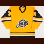 "1985-86 Brian Ford Baltimore Skipjacks Game Worn Jersey – ""AHL 50-year Anniversary"""