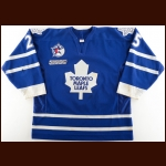 "1999-00 Greg Andrusak Toronto Maple Leafs Game Worn Jersey – ""2000 All Star"""