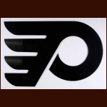 Philadelphia Flyers Black Lucite Logo From the Locker Room at the Philadelphia Spectrum