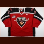 2001-02 Brett Jaeger Vancouver Giants Game Worn Jersey - Inaugural Season - Team Letter