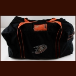 Jonathan Bernier Anaheim Ducks Equipment Bag – Autographed – The Jonathan Bernier Collection – Jonathan Bernier Letter